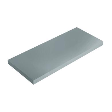 Mensola Spaceo L 76 x P 20 cm, Sp 1.8 cm grigio