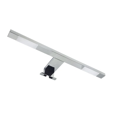 Applique moderno Agrippina LED integrato cromato lucido, in alluminio, 40x