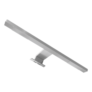 Applique moderno Agrippina LED integrato nichel spazzolato, in alluminio, 40x