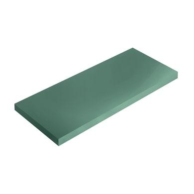 Mensola Spaceo L 76 x P 20 cm, Sp 1.8 cm verde