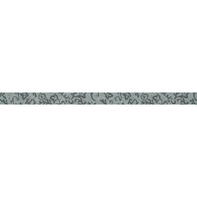 Listello Fleur L 3 x 50 cm grigio