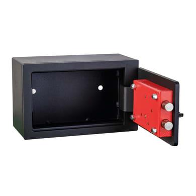 Cassaforte a chiave TECHNOMAX NB/1 da mobile con fissaggio L24 x P9 x H15 cm