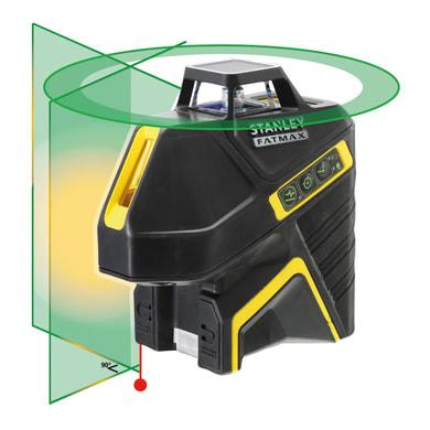 Livella laser STANLEY FATMAX Livella laser 360° + 2 linee vert. nero