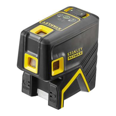 Livella laser STANLEY FATMAX Livella laser 5 punti raggio verde nero
