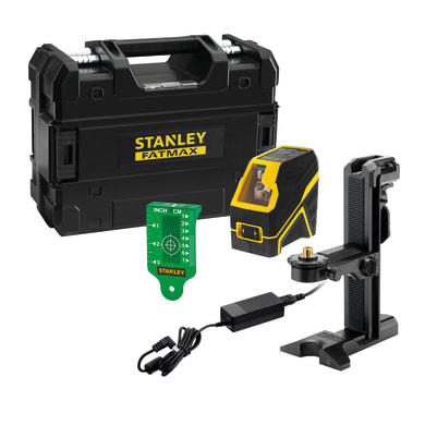 Livella laser STANLEY FATMAX Livella laser a croce raggio verde nero