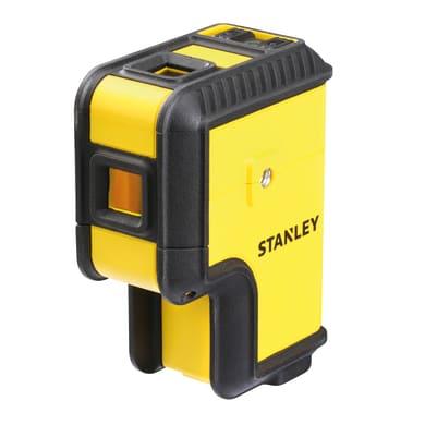 Livella laser STANLEY Livella 3 punti raggio verde giallo / dorato