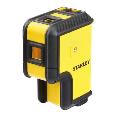 Livella laser STANLEY Livella 3 punti raggio rosso giallo / dorato