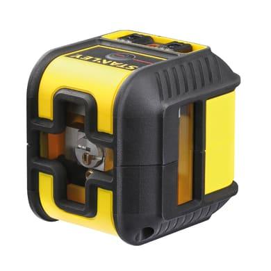 Livella laser STANLEY Livella laser CROSS90 Raggio rosso giallo / dorato