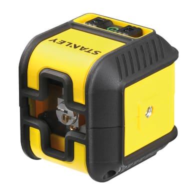 Livella laser STANLEY Livella laser Cubix raggio verde giallo / dorato
