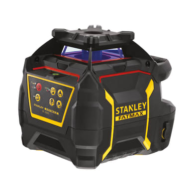 Laser girevole STANLEY FATMAX Livella laser rotante RL600L rag.rosso nero