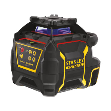 Laser girevole STANLEY FATMAX Livella laser rotante RL600 rag.rosso nero