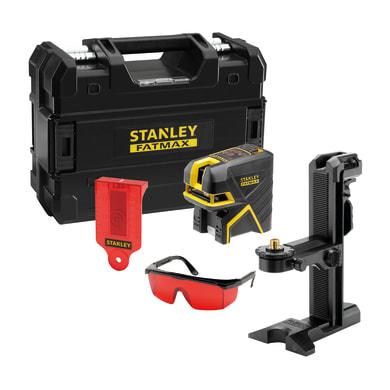 Livella laser STANLEY FATMAX Livella laser a croce + 5 punti nero