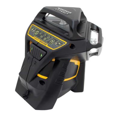 Livella laser STANLEY FATMAX Livella laser X3G raggio VERDE nero