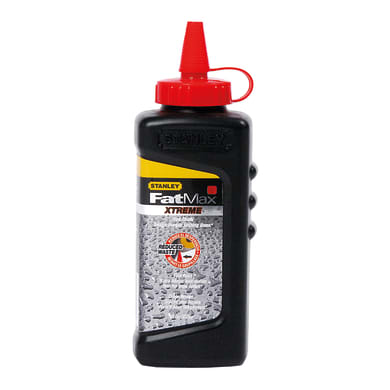 Polvere per tracciatore Polvere per tracciatore rosso in gesso 257 g