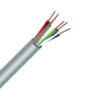 Cavo elettrico 6 fili x 0,5 mm² vendita al metro grigio