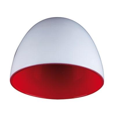 Diffusore Ester bianco, rosso, in vetro, diam. 18