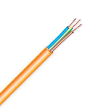 Cavo elettrico H05VV-F arancio h05vvf  3 fili x 1,5 mm² ELECTRALINE vendita al metro