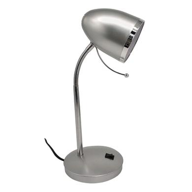 Lampada da scrivania Nae alluminio, in plastica, E27 IP20 INSPIRE