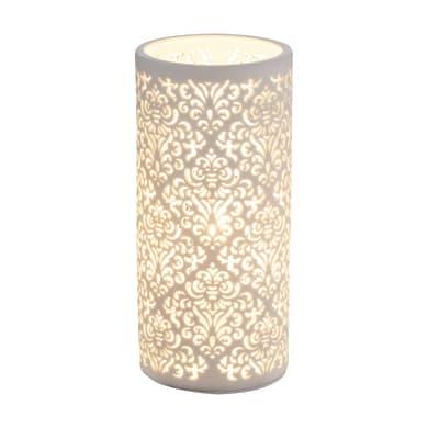 Lampada da tavolo Classico Chic Cendres in ceramica,