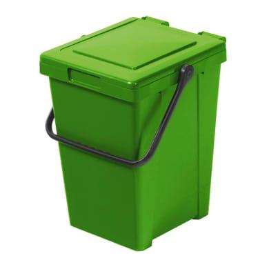 Pattumiera manuale verde 35 L