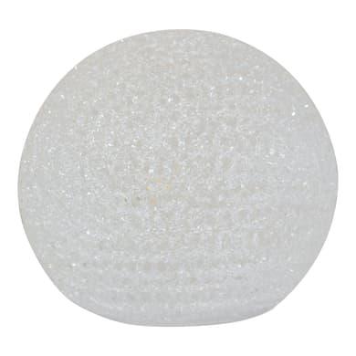 Lampada da tavolo Vidik bianco, in plastica, E14 MAX 40W IP20 INSPIRE