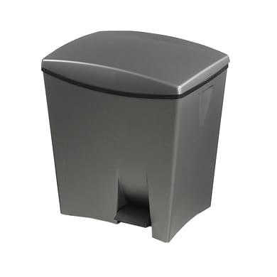 Pattumiera a pedale grigio 20 L