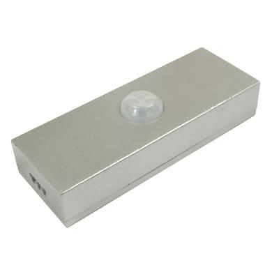 Sensore di movimento rio flat, grigio / argento,