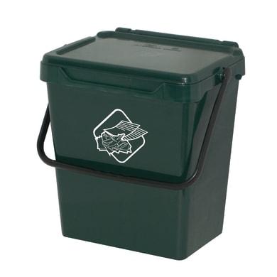 Pattumiera manuale verde 30 L