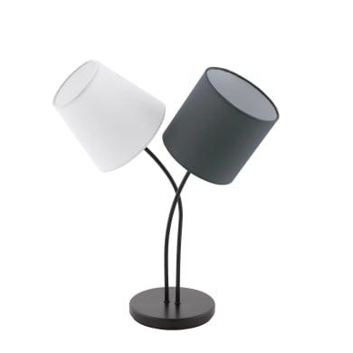 Lampada da tavolo ALMEIDA nero, in metallo, EGLO