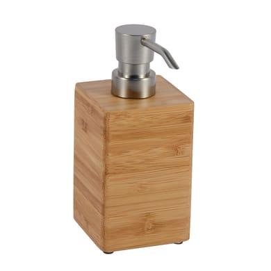 Dispenser sapone Natural bamboo legno chiaro