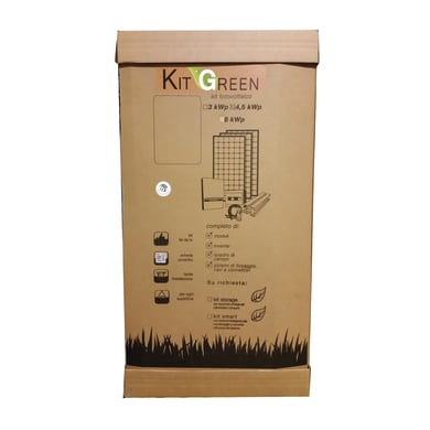 Kit solare fotovoltaico GREEN TOP 4,5 KWP 4500 W