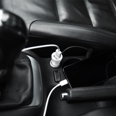 Caricabatterie ISNATCH Smart car Charger 2