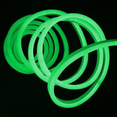 Striscia led Neon Flex Verde 5m luce bianco naturale 5LM IP67