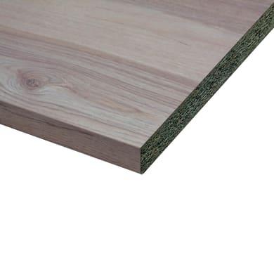 Piano di lavoro in laminato beige Wafer L 304 x P 60 cm, spessore 3.8 cm