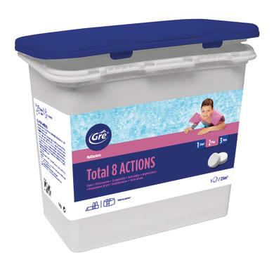 Kit per trattamento acqua in pastiglie GRE 76060