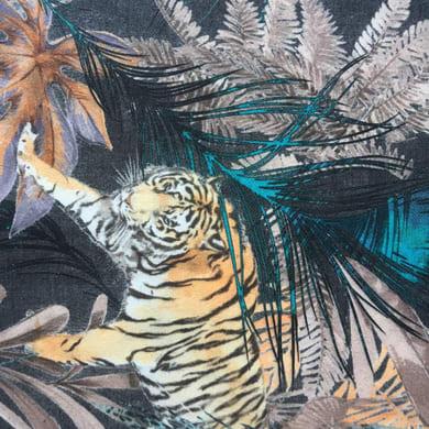 Tessuto Tiger verde 140 cm