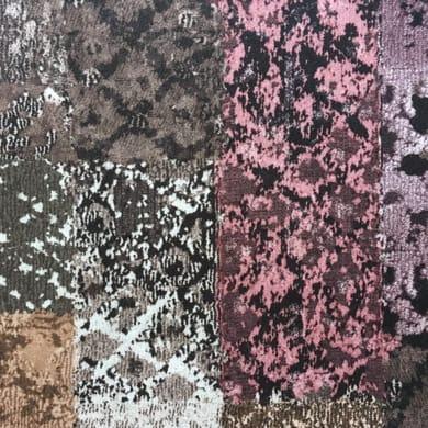 Tessuto Patch marrone 140 cm