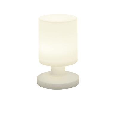 Lampada da tavolo Moderno Lampada esterno Lora bianco, in plastica