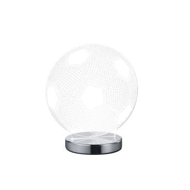 Lampada da tavolo Moderno Lampada FUN Palla cromato lucido, in acrilico