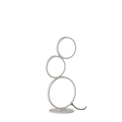 Lampada da tavolo Moderno Lampada tavolo Rondo cromato opaco, in metallo
