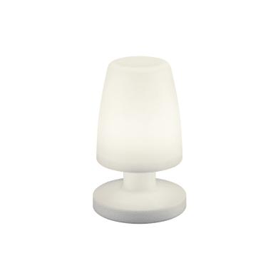 Lampada da tavolo Moderno Lampada esterno Dora bianco, in plastica