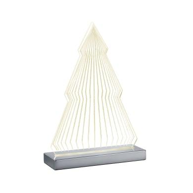 Lampada da tavolo Moderno Lampada FUN albero cromato lucido, in acrilico