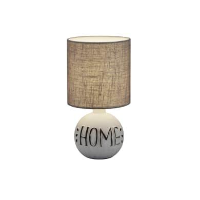 Lampada da tavolo Classico Chic ESNA LAMPADA TAVOLO CERAMICA HOME beige, in ceramica, REALITY