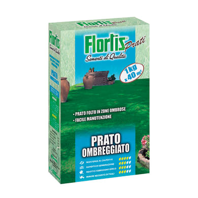Seme per prato FLORTIS FLORTIS OMBREGGIATO  1 kg
