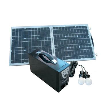 Kit pannello solare con luce PESAC G300 30 W