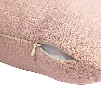 Cuscino Lazaro rosa 40x40 cm