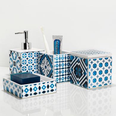 Dispenser sapone Mosaic bianco