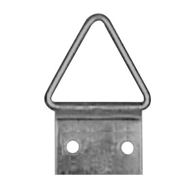 Attaccaglia snodata grigio 16 pezzi