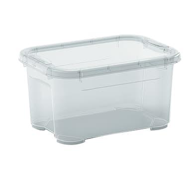 Contenitore T-box L 26 x H 14 x P 19 cm trasparente