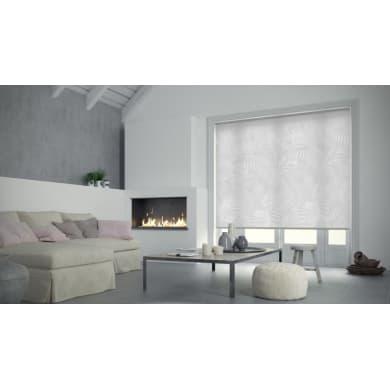 Tenda a rullo Paris grigio / bianco 75x250 cm